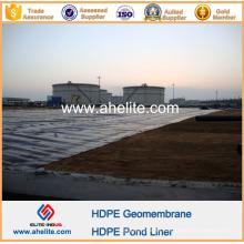 PEAD PEAD LDPE PVC EVA HDPE Geomembrana para Oil Liners