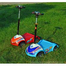 Niños scooter eléctrico 4 ruedas Kids E-Scooter pie tipo