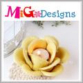 Ceramic Lotus Flower Candle Holder for Lighting