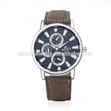Retro Luxo Vogue Quartz popular pulseira de couro relógio de pulso SOXY048