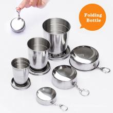 3size für wählen Sie Edelstahl Folding Travel Cups