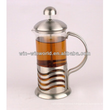 China Factory Wholesale Custom Borosilicate Glass Cafetiere