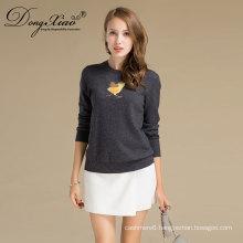 Plus Size Super Quality Eco-Friendly Women Winter Merino Wool Sweater