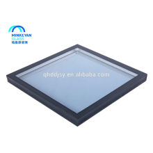 vidrio de ventana low-e triple vidrio con aislamiento doble