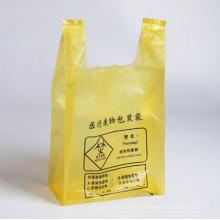 Einmalige medizinische Abfallweste Griff Tasche