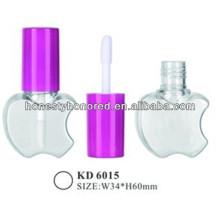 Plastic Apple Shape Empty Lip Gloss Bottles
