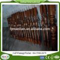 colunas de madeira da escada colunas decorativas interiores
