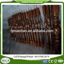 Holztreppenspindeln Holzbalustrade