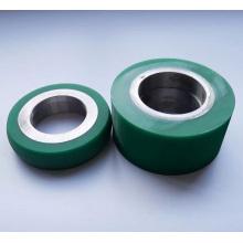 Custom Cast  Polyurethane Urethane Idler Roller Wheel
