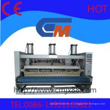 Machines complètes de gravure de tissu et de cuir automatiques avancées avancées
