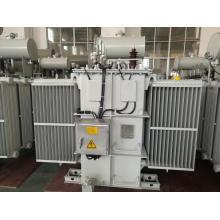 Transformador de potencia de distribución sumergido en aceite de bajo ruido