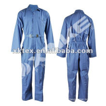 Fire retardant 100%cotton coveralls for oil field coverall