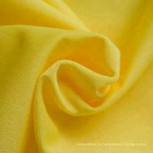 Tecido tricotado tricô de poliéster com malha super poliéster