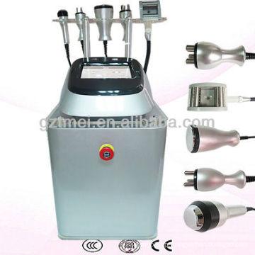 O melhor efeito 5 em 1 máquina de emagrecimento ultra-sônico do vácuo do Cryolipolysis da cavitação do RF