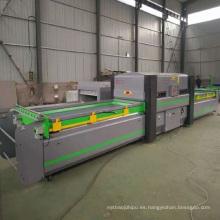 Máquina de moldeo por vacío de placa deformada automática completa