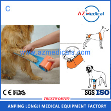 Medical orthopedics fracture first aid splint for animal