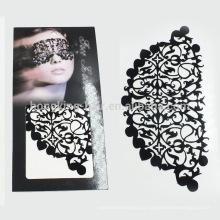 Нетоксичные лицо макияж, временные лицо татуировки наклейки для партии