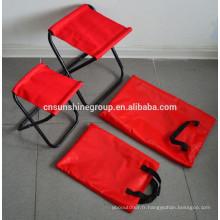 Outdoor pliant tabouret de camping/pêche léger avec sac de transport.