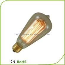 E2760W  St64 Edison Bulb