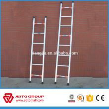 échelle en aluminium simple d'un côté, échafaudage de cadre d'échelle, bride d'échelle d'échafaudage