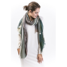 Whare-90%Modal &10%Cashmere Ladies Scarf