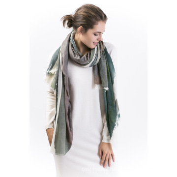 Whare-90%Modal &10%Cashmere Ladies Scarf