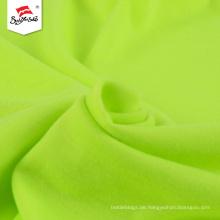 Custom Green Polyester Strick Baumwolle Single Jersey Stoff