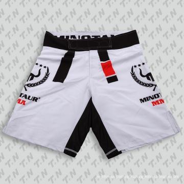 Горячий продавая изготовленные на заказ сублимированные шорты MMA