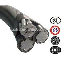 URD 4/0 2/0 Fil d'enterrement direct en aluminium triplex