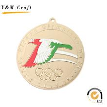Distintivo venda quente medalha wigth alta qualidade (q09536)