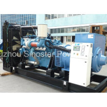 Diesel Generator 2600 kVA Powered by Mtu