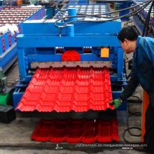 Xinnuo chapa galvanizada esmaltada rollo que forma maquinaria techo de zinc que hace la máquina