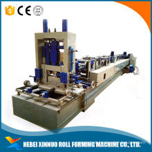 Automatic metal c z purlin roof panel roll forming machine