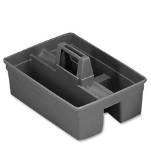 Hotel cleaning plastic tote caddy