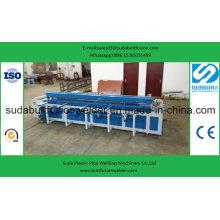 * Máquina de rolamento plástica automática da extremidade-soldadura da folha de 6000mm Dh6000