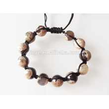 Natural Gemstone Beaded Bracelet For Men