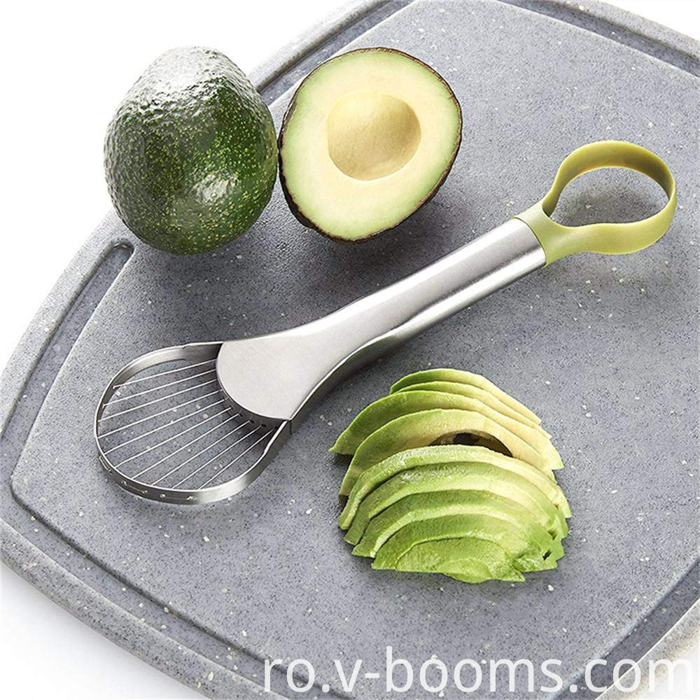 2-in-1 Stainless Steel Avocado Slicing Tool