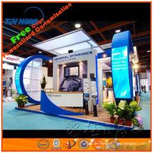 proveedor de oro de la cabina expo de las ventas pintadas y calientes de madera en Shangai