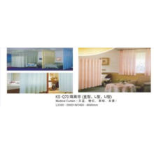 Hospital Medical Curtain (blue/pink/green/yellow color)