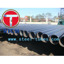 Tubo sem costura Astm A333 Gr6 STS 316