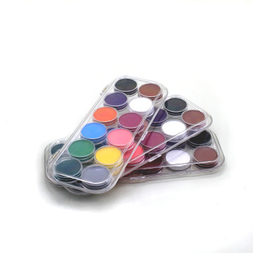 Body Art Pigment Drawing Halloween Face Paint Palette