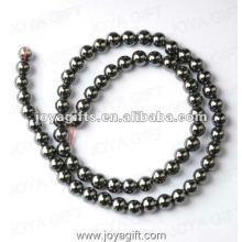 """6MM Loose Hematite Round Beads 16"""""""