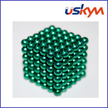 Green Coated Magnetic Balls Buckyball Toy (T-020)