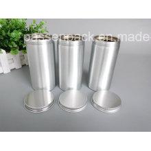 Caixa de alumínio de prata do chá para a embalagem perfumada do chá (PPC-AC-046)