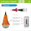 Новый портативный CE Крытый солнечные светодиодные дома свет с USB зарядное устройство & Светодиодные лампы