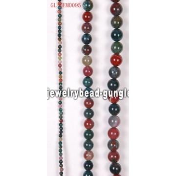 Grânulos da jóia de ágata natural indiano