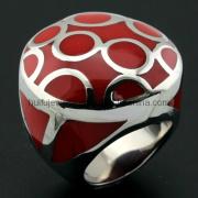 Enamel Mushroom Shape Resin Jewelry Steel Outlet