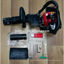900w 1.2HP 25-45J 32.7cc Gasolina portable accionó el conductor de la pila del martillo