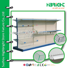 Suzhou Highbright supermarket equipment,metal gondola shelf unit,not Madix style gondola shelving