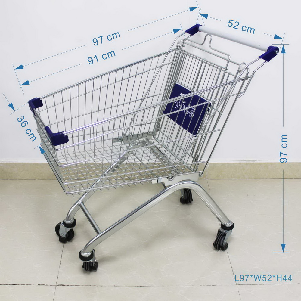 size of shopping cart
